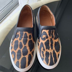 Givenchy leopard print slip on